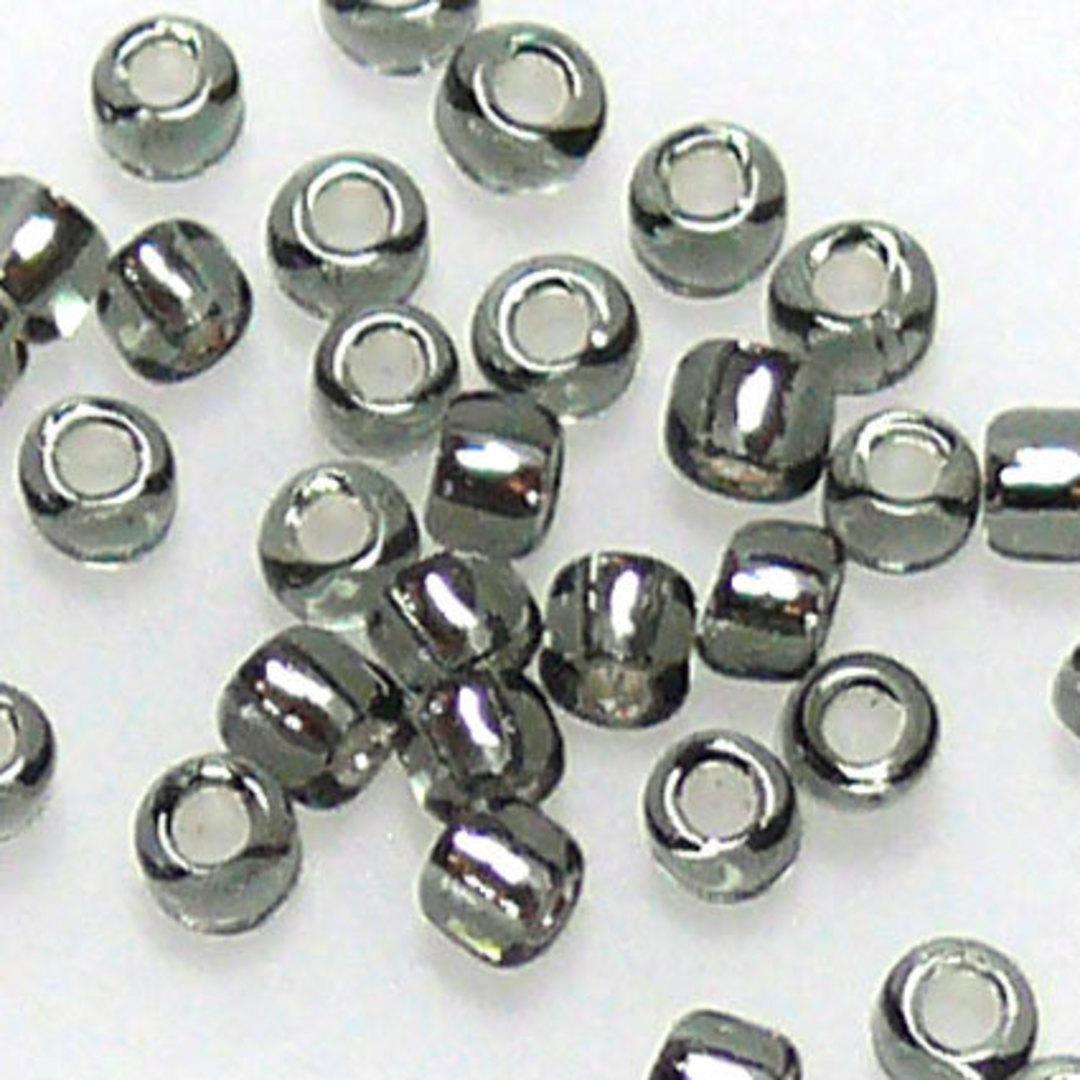 Matsuno size 11 round: 21 - Dark Grey, silver lined image 0