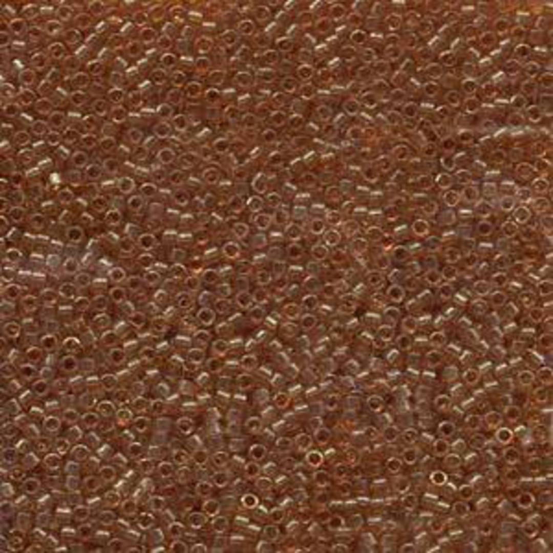 Delica, colour 121 - Dark Topaz Gold Lustre image 0
