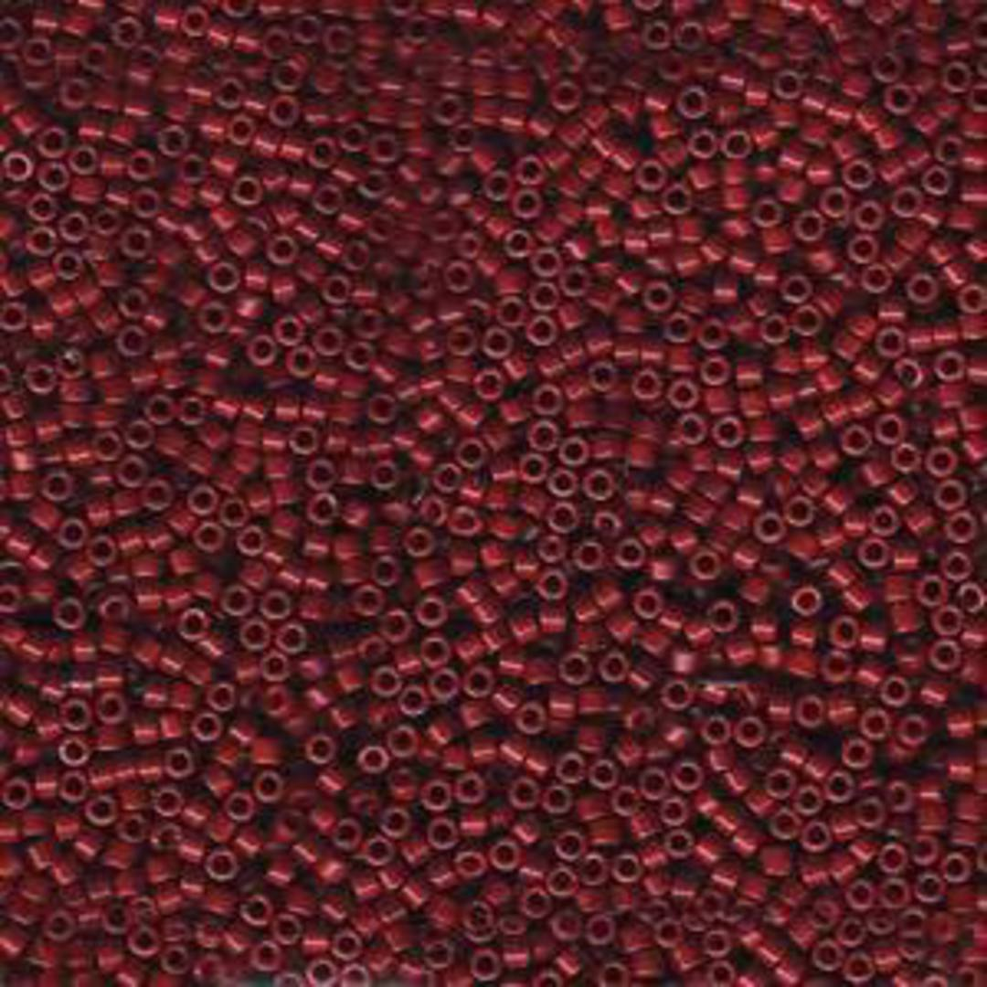 Delica, colour 654 - Dyed Opaque Cranberry image 0