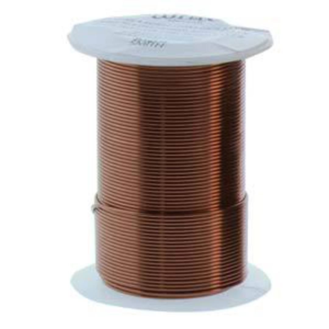 NEW!  Beadsmith Craft Wire, Antique Copper Colour: 18 gauge image 0