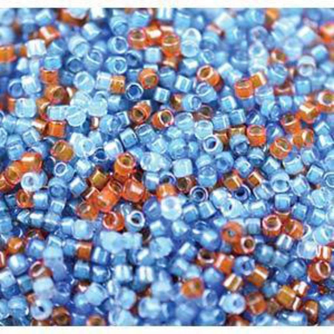 Delica, Luminous MIX 8 - blues image 0