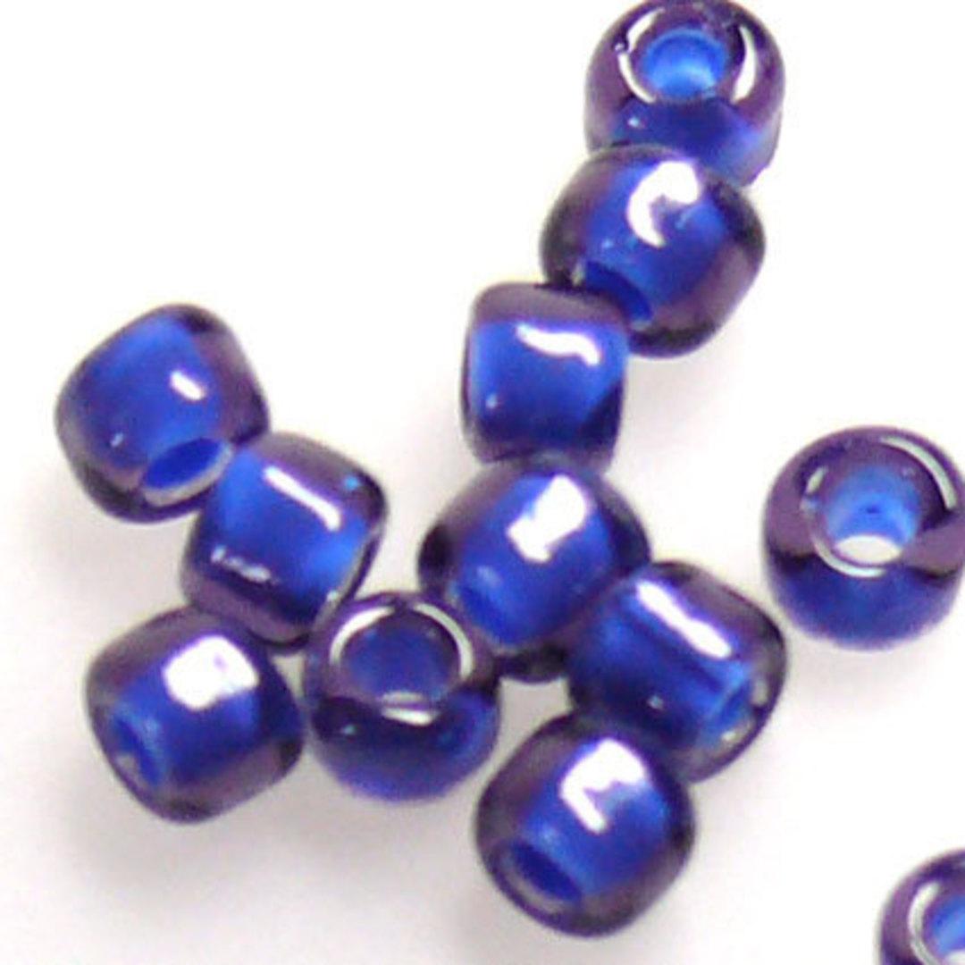 Matsuno size 8 round: 399H - Dark Blue/Purple colour lined image 1