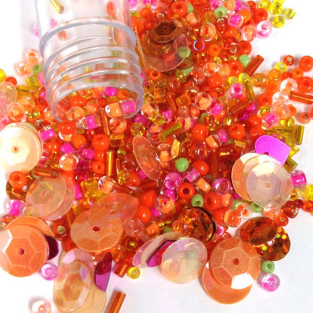 Seed Bead Mix, 15gm - HOTS image 0