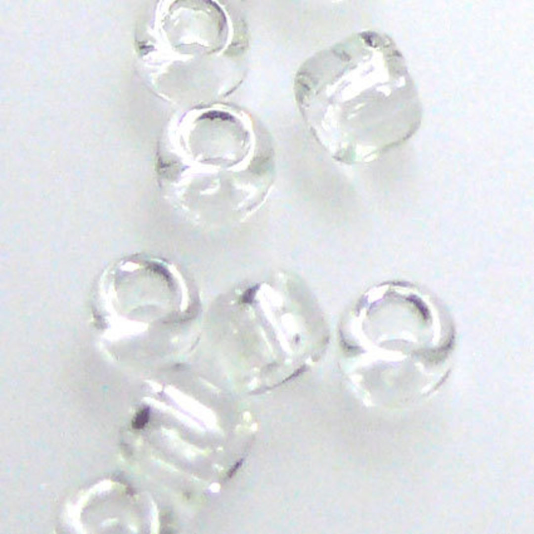 Matsuno size 8 round: 131 - Crystal Clear, transparent image 1