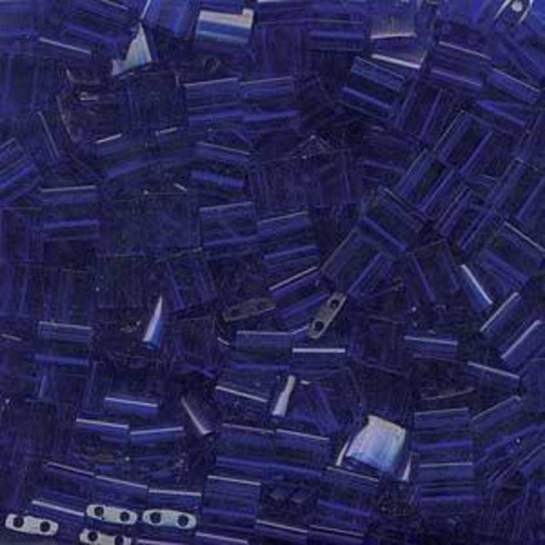 Tila Bead, 5mm, Transparent Cobalt image 0