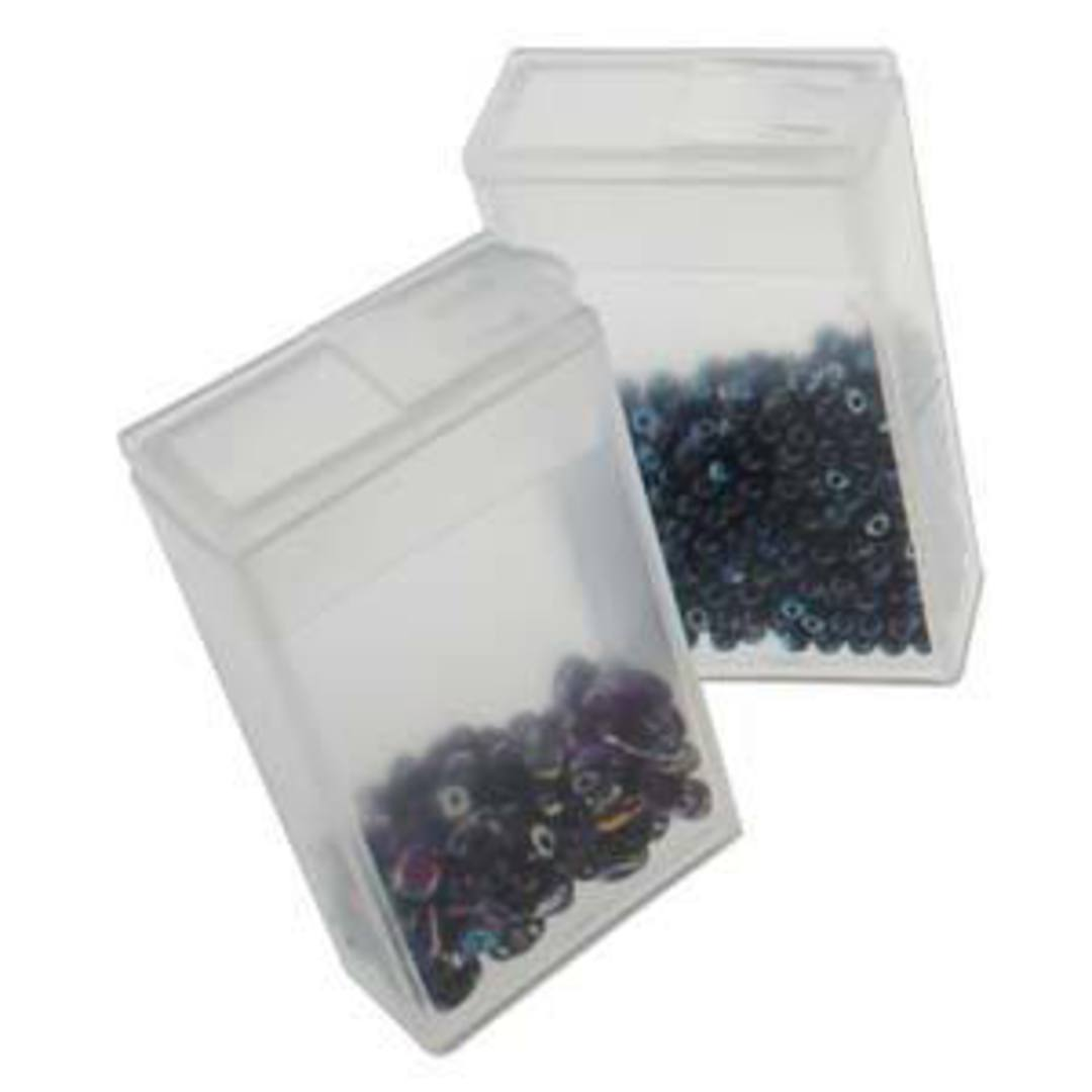 Storage Box with 24 flip top cases image 2