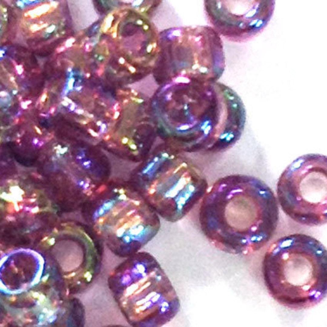 Matsuno size 6 round: 256 - Amethyst AB, transparent image 0