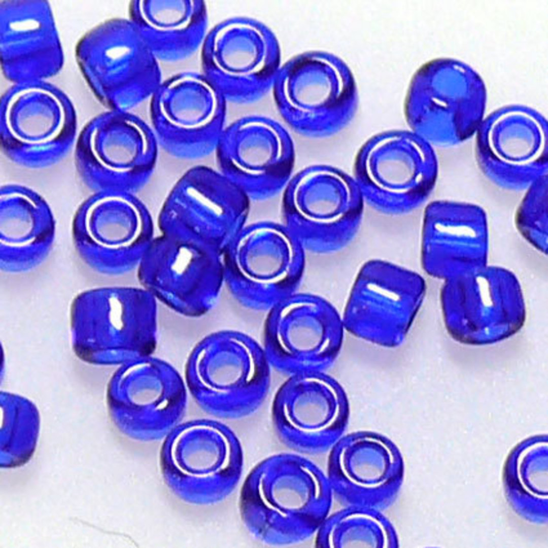 Miyuki size 11 round: 151 - Cobalt transluscent image 0