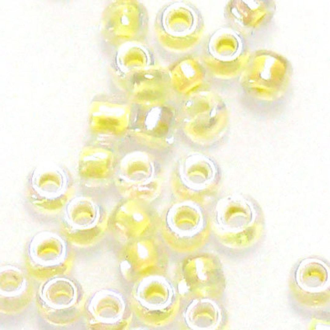 Matsuno size 11 round: 281A - Light Yellow, transluscent image 0