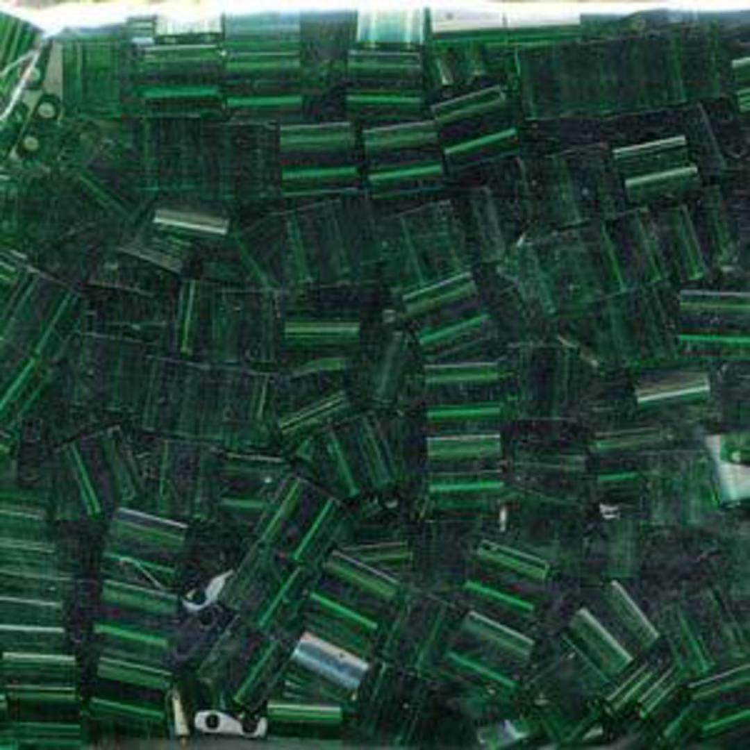 Tila Bead, 5mm, Transparent Green image 0