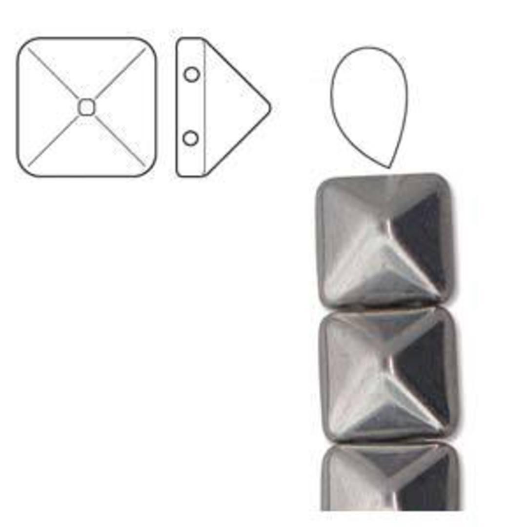 Pyramid Stud: 12mm - Crystal Labrador image 1