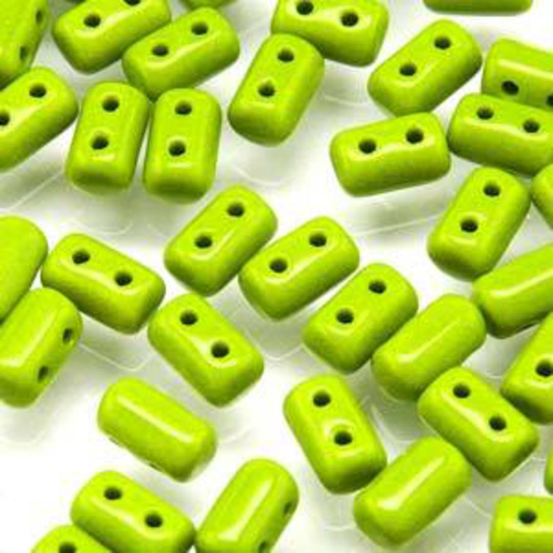 Rulla Bead: Opaque Green image 0