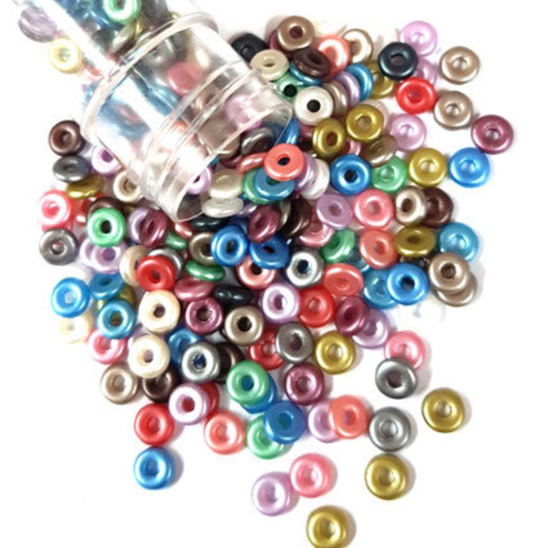 NEW! Czech Zero Bead - Pastel Mix image 0