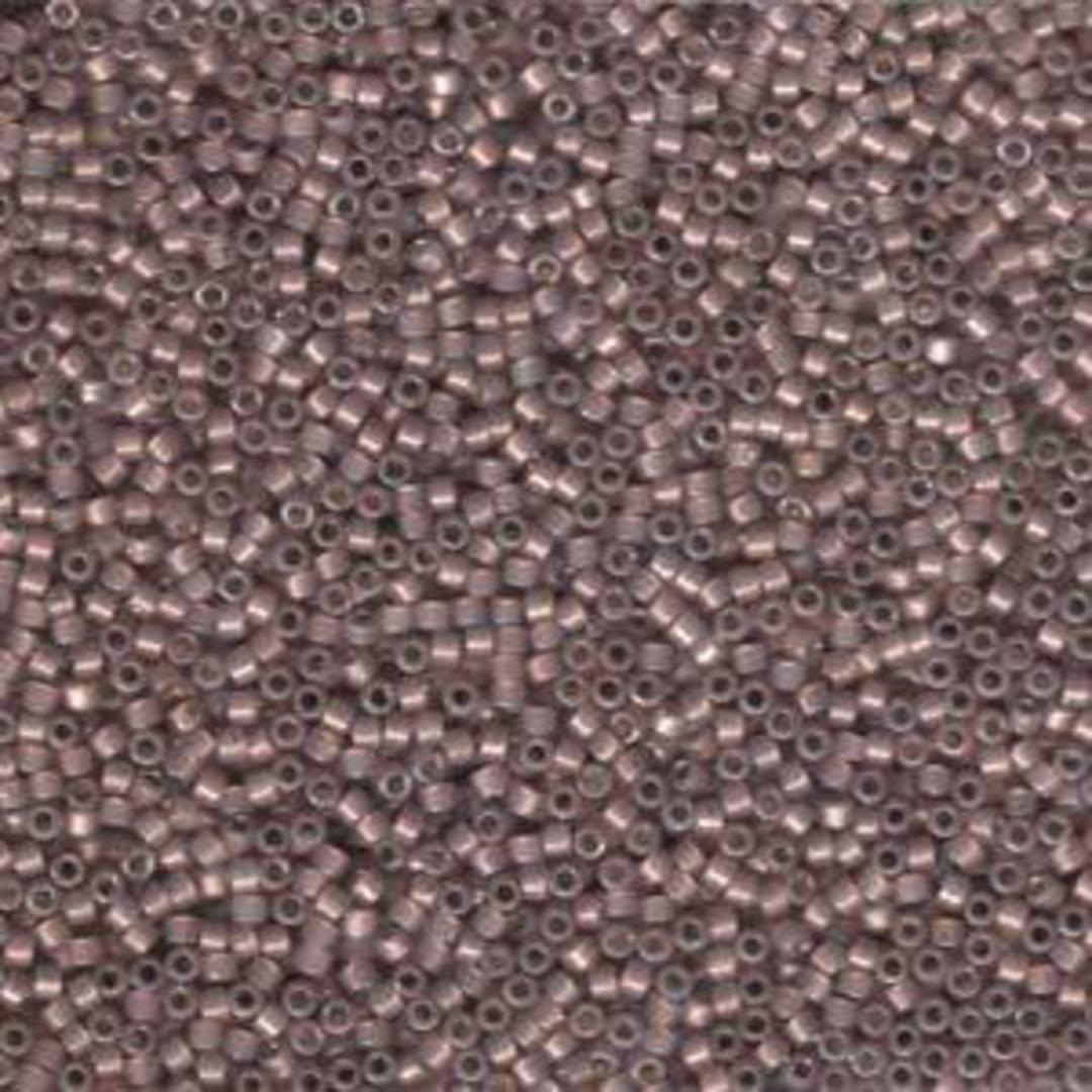 Delica, colour 1460 - Cinnamon opal silver lined image 0