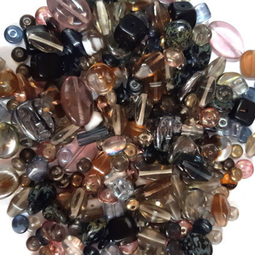 NEW! Pressed Bead Mix - Gloaming image 0