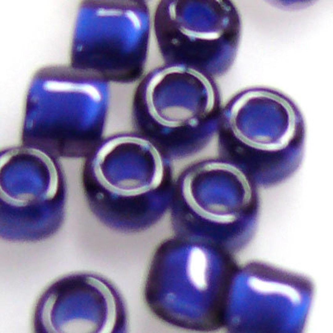 Matsuno size 6 round: 399H - Dark Blue/Purple, colour lined image 1