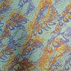 flow - purple & orange on deep green