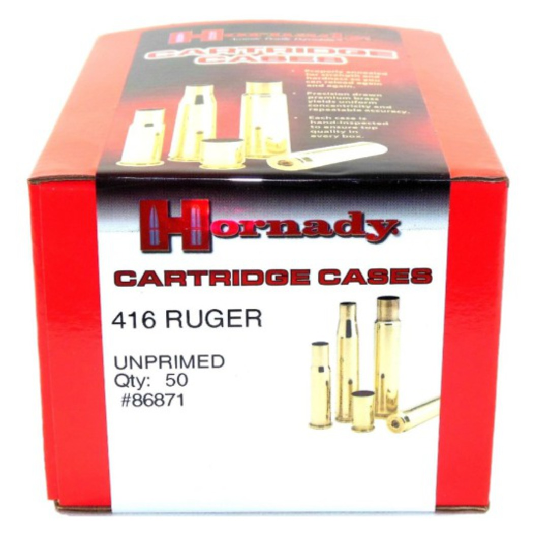 Hornady 416 Ruger Brass Cases 50's #86871 image 0