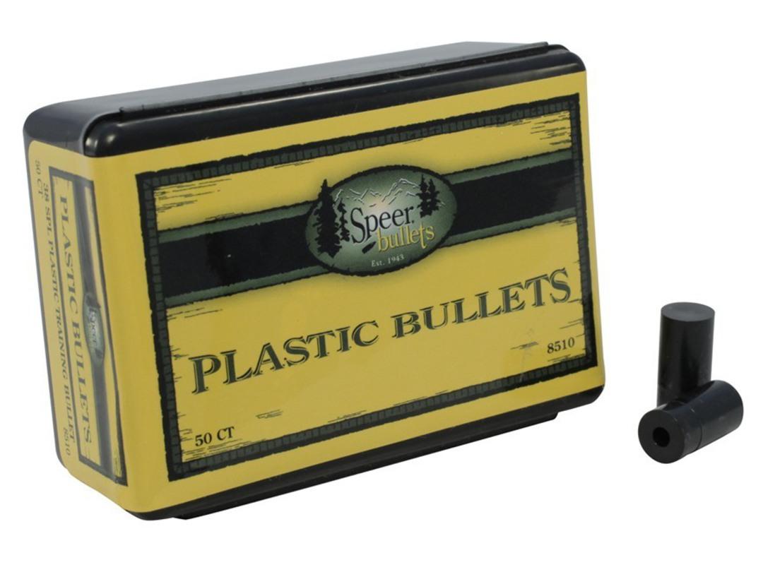 Speer 38 Spl Plastic Training Bullets  (50 box) #8510 image 0