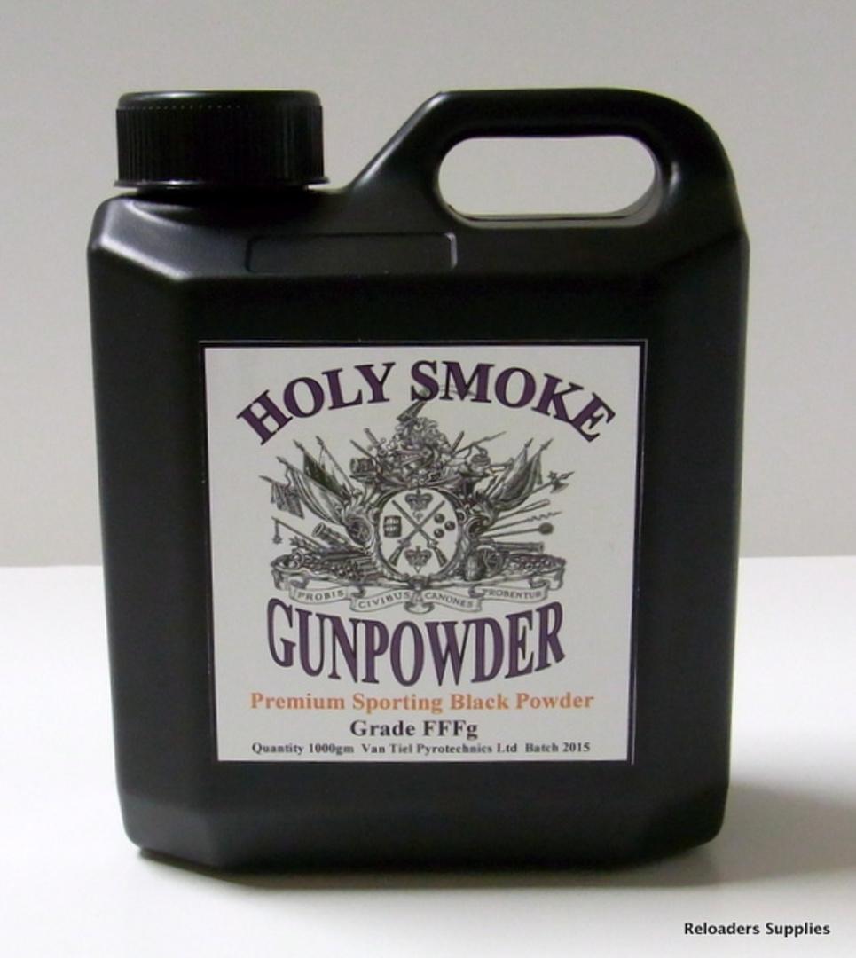 Holy Smoke Gunpowder FFFg 1kg image 0