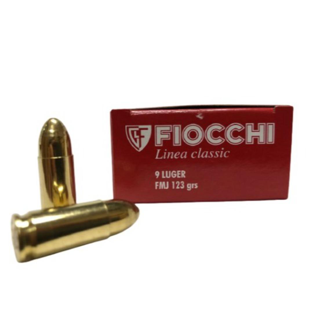 Fiocchi Classic Line 9mm Luger 123gr FMJ x50 image 0