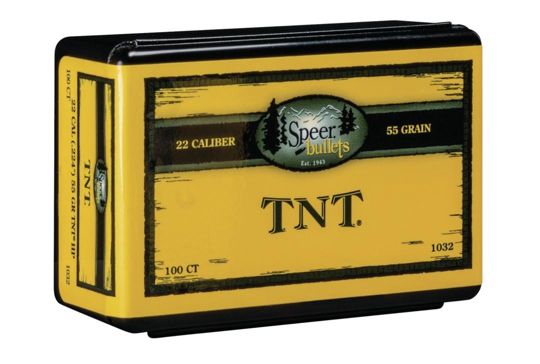 "Speer Varmint .224"" 55gr TNT HP 1032 image 0"