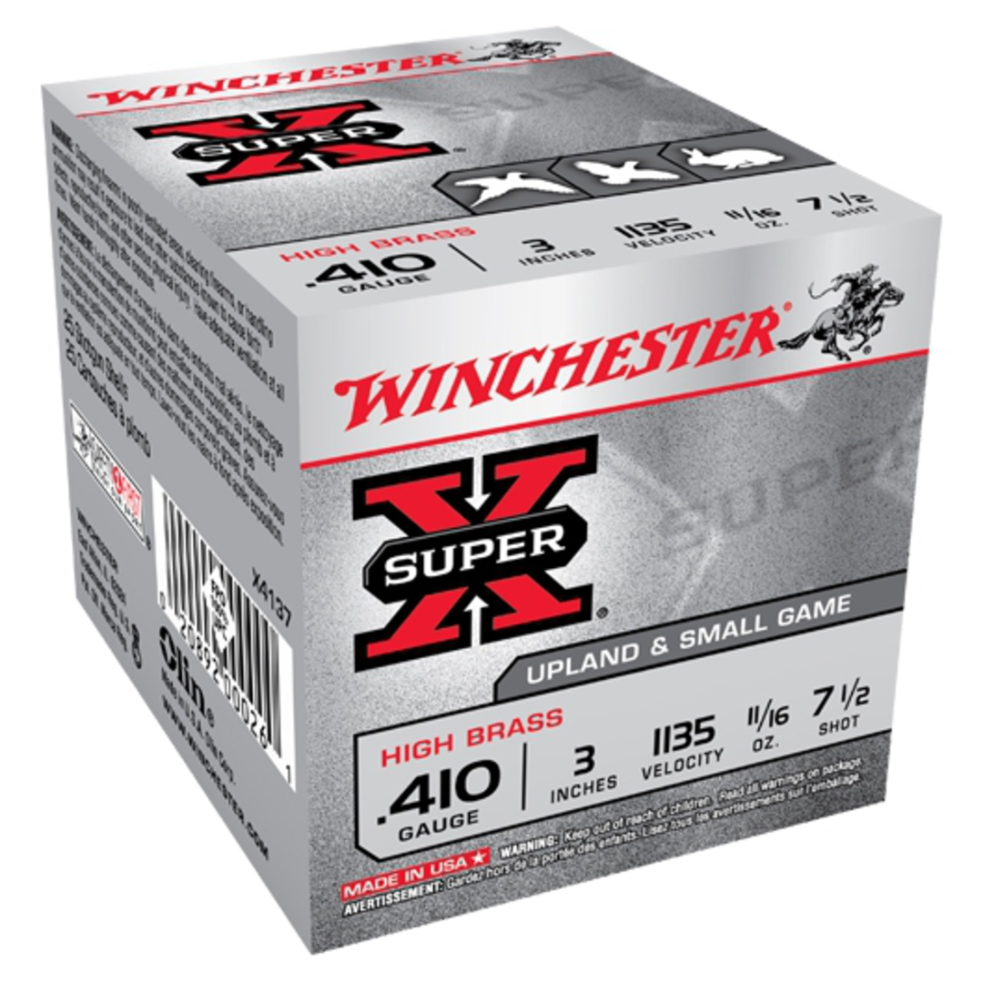 "Winchester SuperX 410 3"" #7 19gm (25rds) image 0"