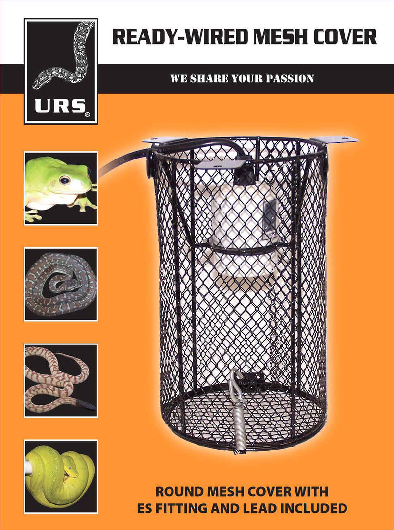 URS Safety Cage With Lead & Ceramic Fitting image 0