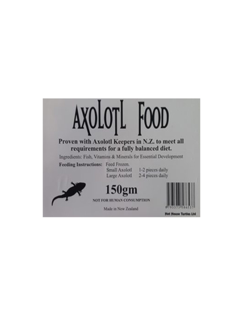 Hot House Turtle Axolotl Food 150gm image 0