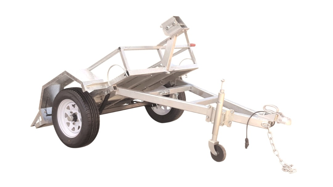 Safari Easy Load Plate Compactor Trailer image 1