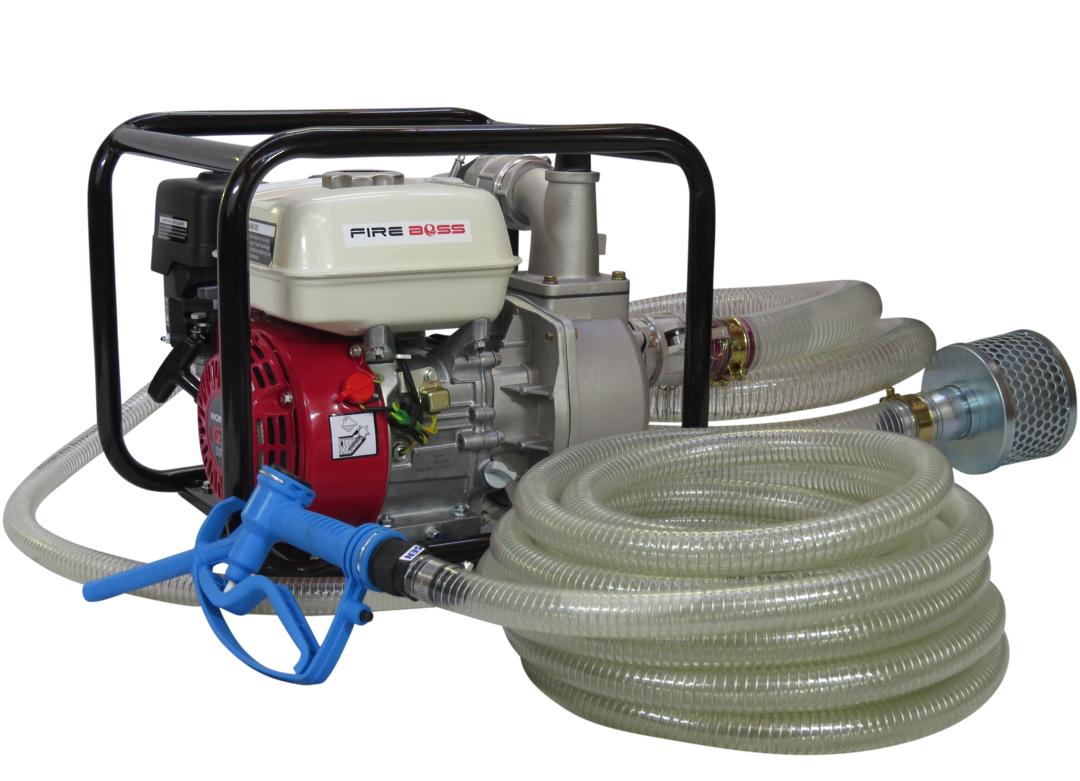 """2"""" Fireboss® Honda Powered Semi Trash Pump + Calf Milk Hose Kit image 0"""
