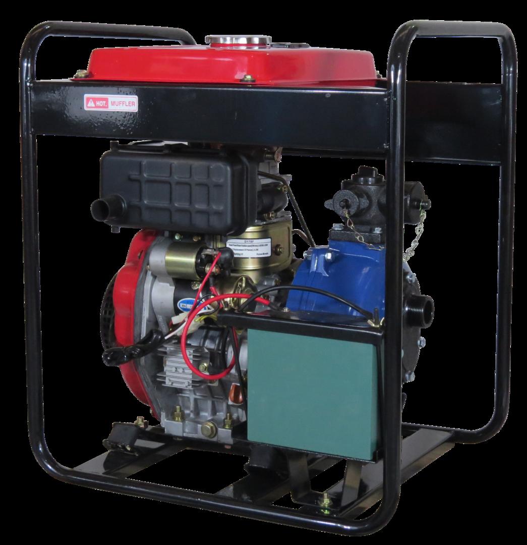 "1½"" Anderson Diesel 382 Fireboss® Twin Impeller Pump Electric start image 1"