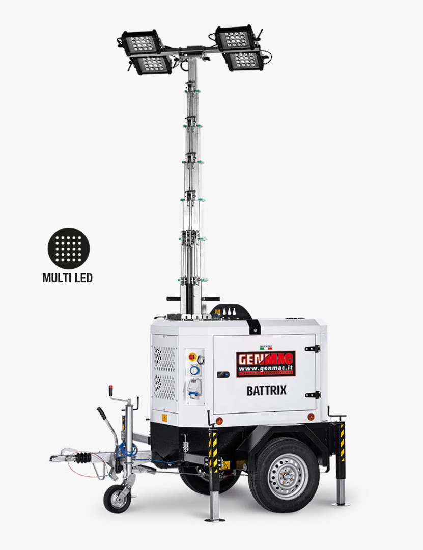 Genmac Battrix LED Light Tower TI9B image 0