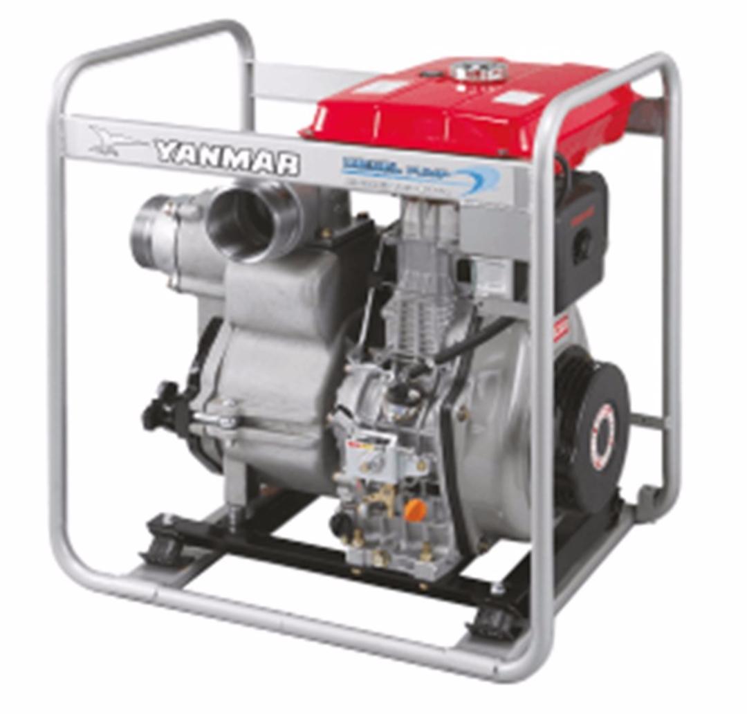 "Yanmar 4"" Trash Pump Electric Start image 1"