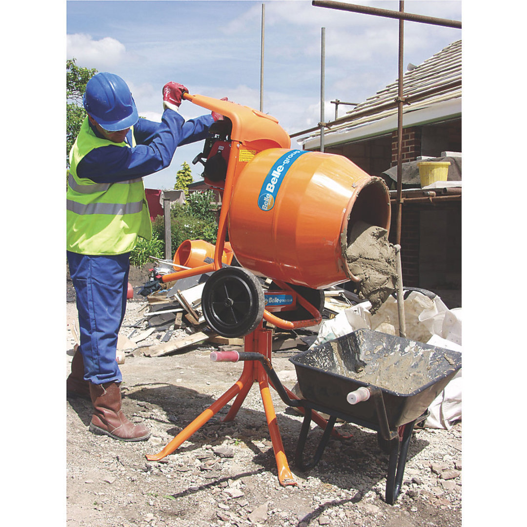 Altrad Belle M33BA Concrete Mixer Electric image 2