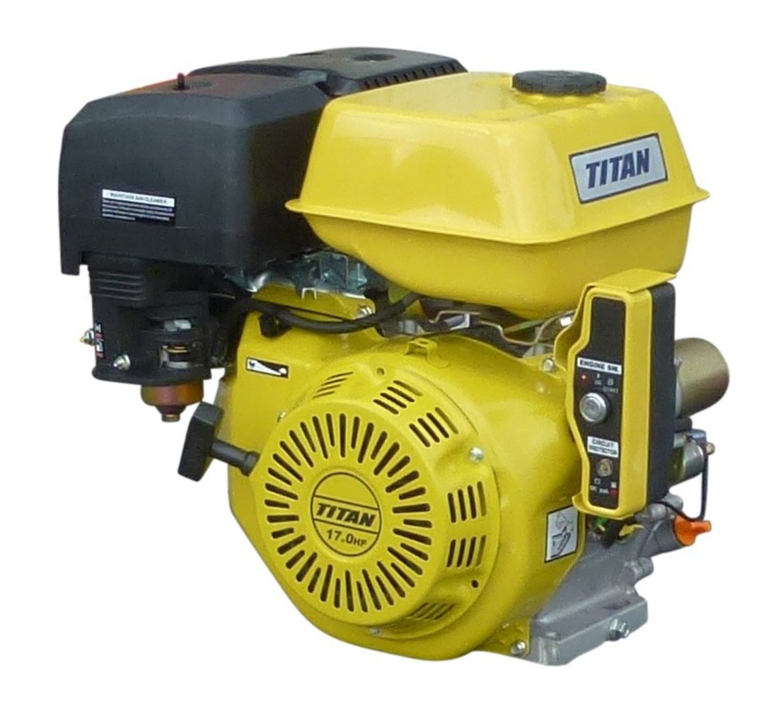 Titan 17HP Engine, Electric Start image 0