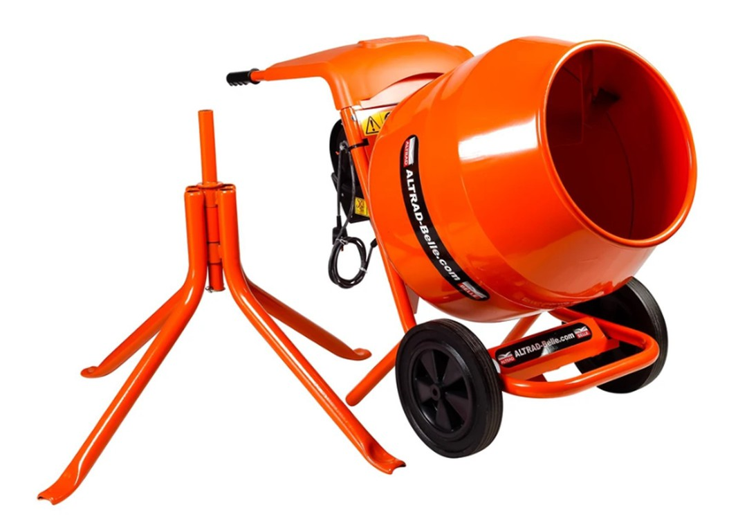 Altrad Belle M33BA Concrete Mixer Electric image 1