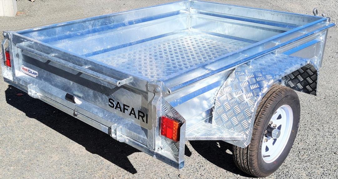 Safari 6x4 Single Axle Box Trailer image 1