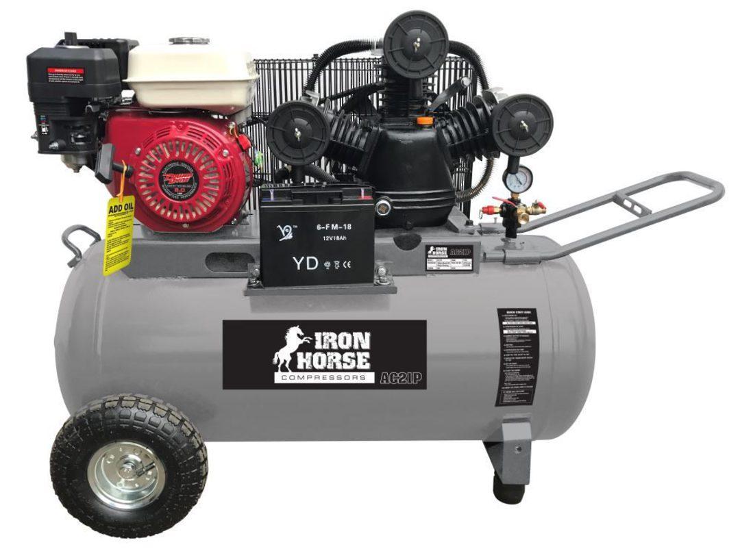Iron Horse AC21P Air Compressor image 0