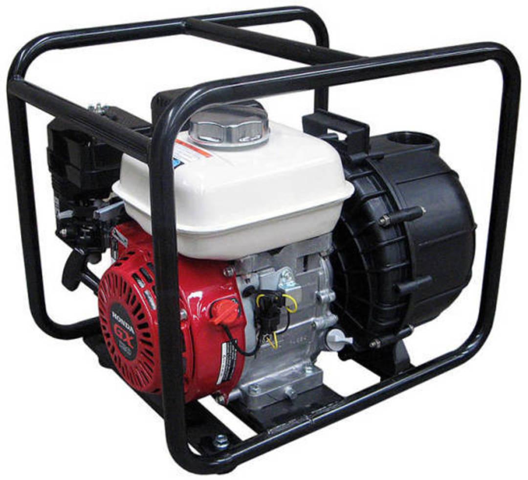 "3"" Honda Powered Poly Pump EPDM image 0"