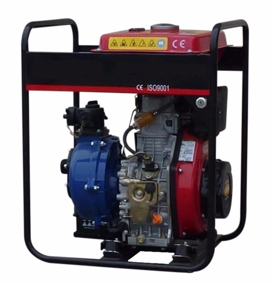Yanmar Diesel 382 Fireboss® Twin Impeller Water Pump Electric start image 0