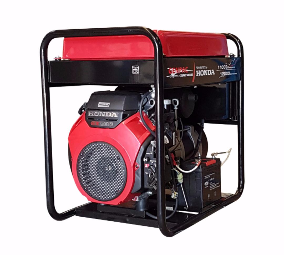 Genpac 14000E 12kW Honda Powered Generator image 0