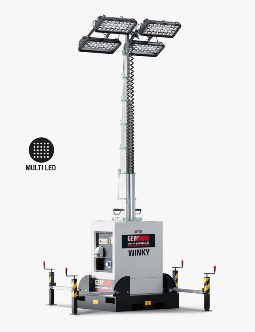 Genmac Winky LED LIght Tower TI9 image 0