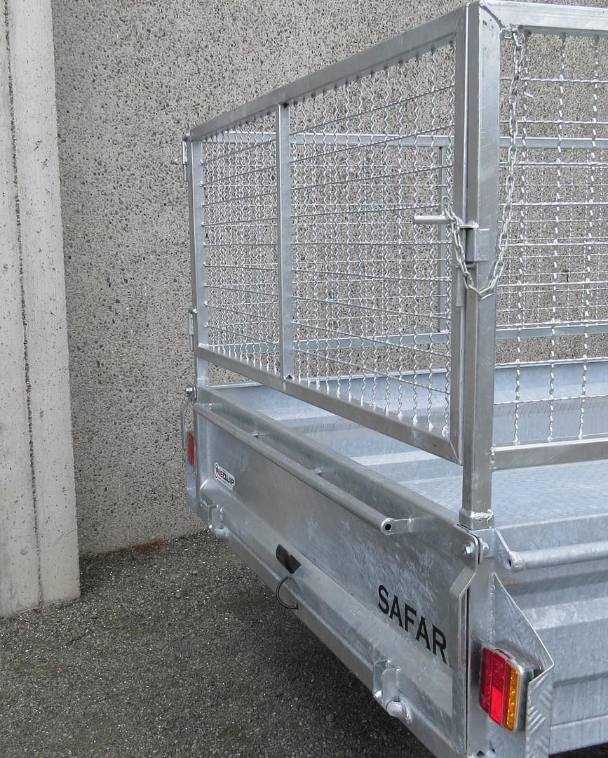 Safari 10x5 Tandem Axle Box Trailer Incl Cage image 3