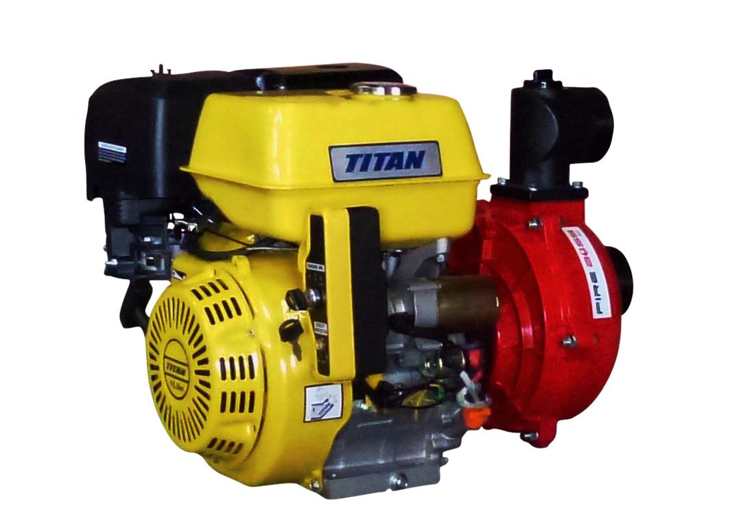 """3"""" Titan Fireboss® High Pressure Water Pump 16HP Electric start image 0"""