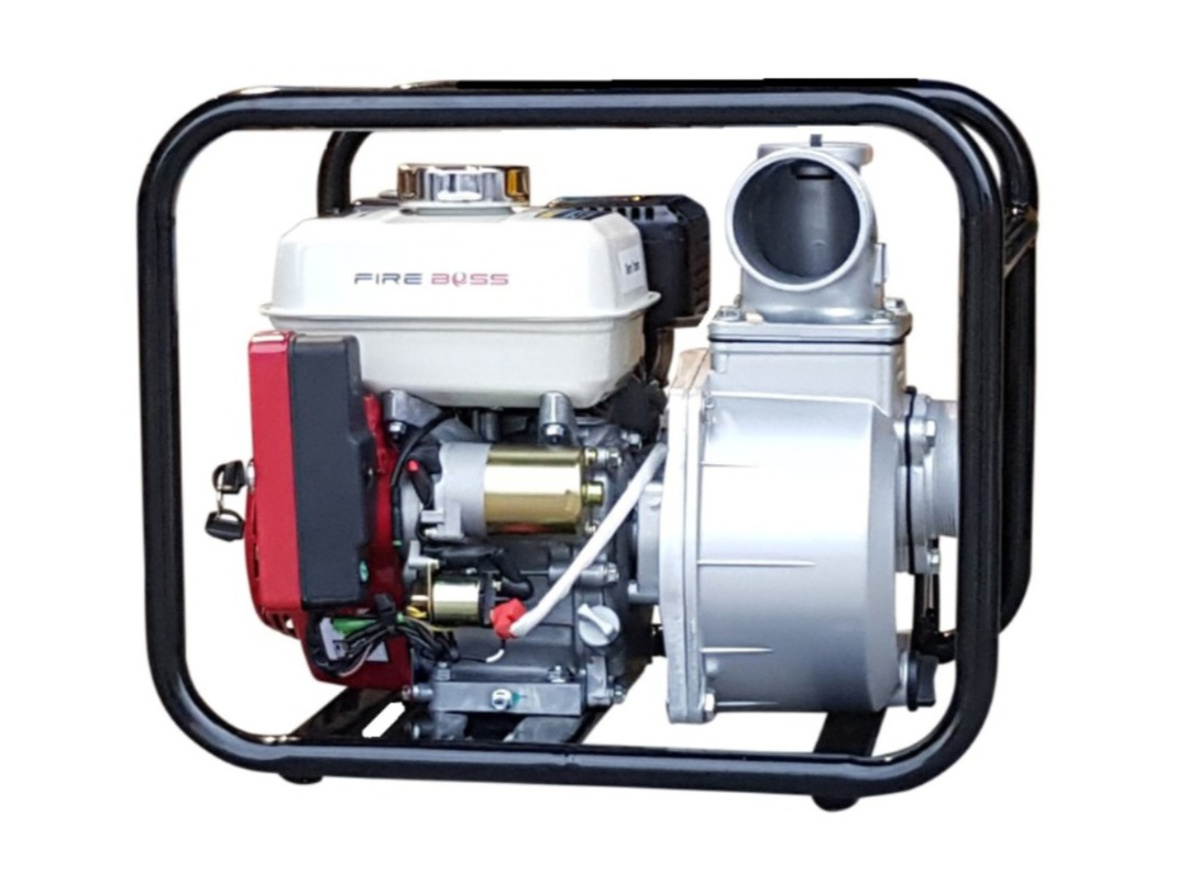 "3"" Fireboss® Honda Powered Semi Trash Water Pump Electric Start image 0"