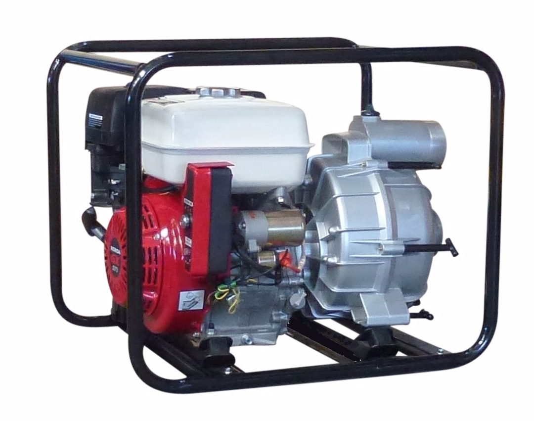 "3"" Honda Powered Trash Electric Start Pump image 0"