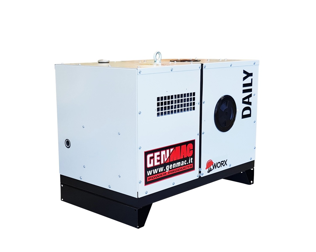 Genmac Yanmar Powered Daily RG5000YS Generator 6.1kVA Silenced 230v image 3