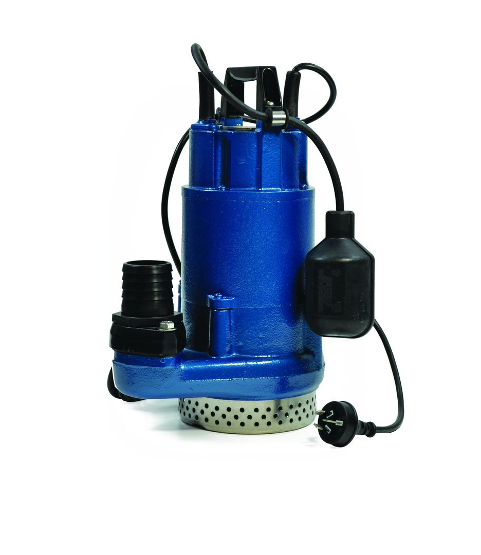 "2"" Davies LB215-3 Drainage Submersible Pump 1500w - No Float Switch image 0"