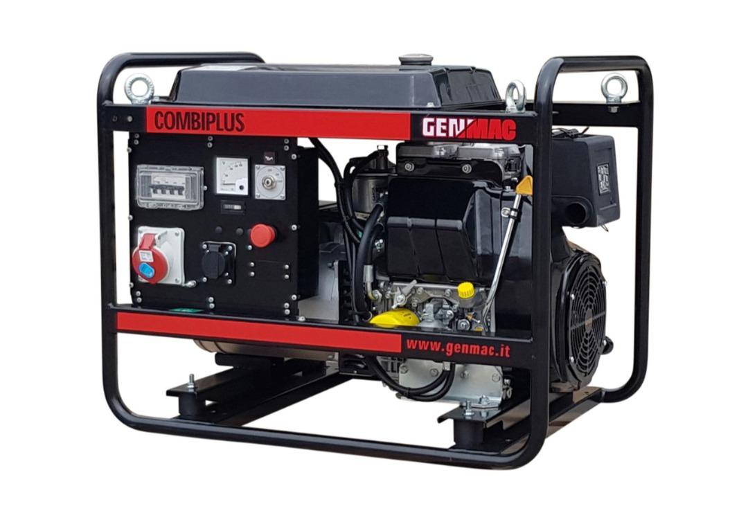 Genmac Kohler Powered G11100KEO Diesel Generator 12.3kVA 400v image 0